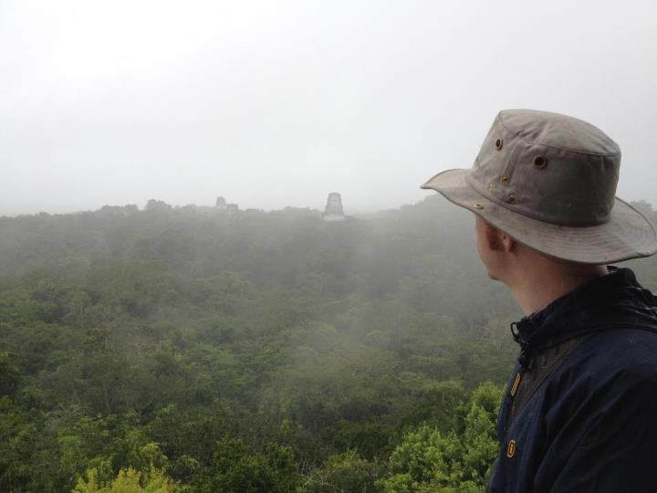 The Guerrilla Explorer at Tikal